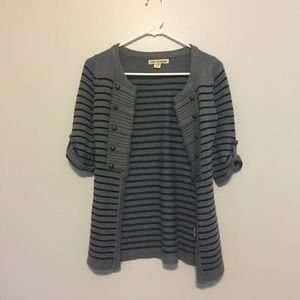 Striped Cardigan (Love by Design)